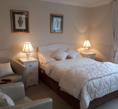 Deluxe Double Room on Ground Floor with