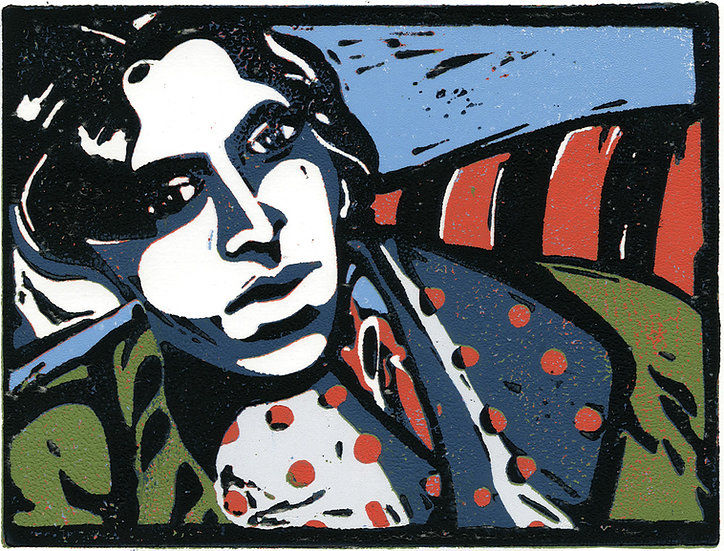 Oscar Wilde Seated / Pack of 6 cards