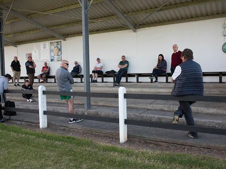 Kilmeena GAA Conduct Their Meeting in the Open-Air