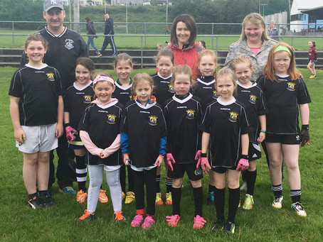 Girls U6 and U8 review