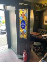 Original lobby doors retained