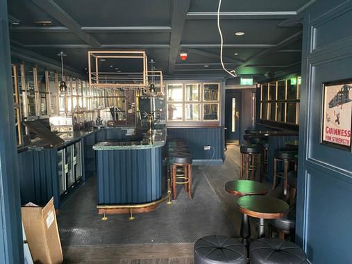 New first floor bar