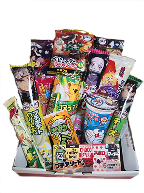 Jbox аниме японские сладости коробка