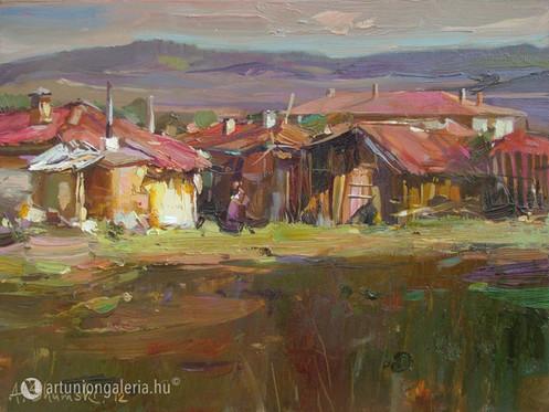 "Shymski Andre ""Napsugár"" festmény eladó"