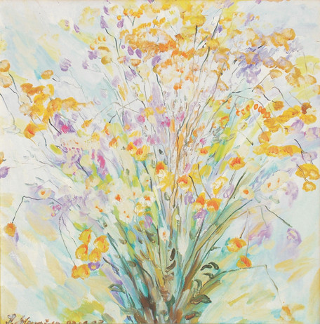 Косиці мôму онукови Ґреґіке / Flowers for my grandson Gregike