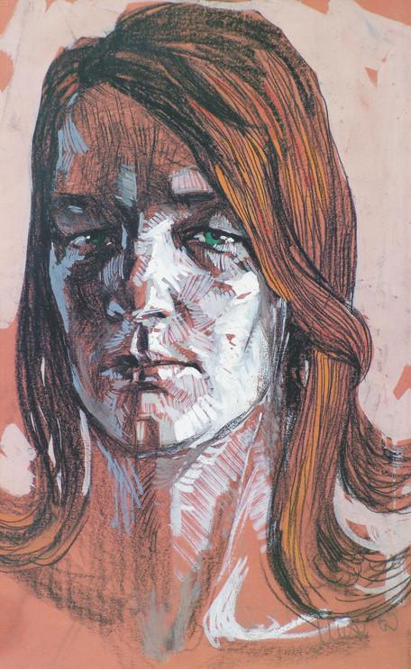 Портрет жоны / My wife's portrait