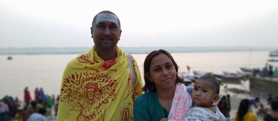 Celebrating our India pilgrimage- Appaji's Grace!