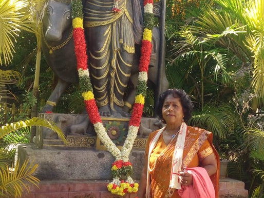 My mother Indra-Spiritual Journey with a difference.