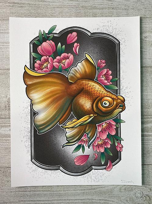 Goldfish - Fine Art Print