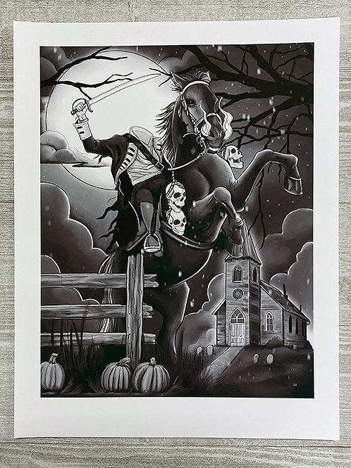 Headless Horseman - Fine Art Print by Tom Hacic