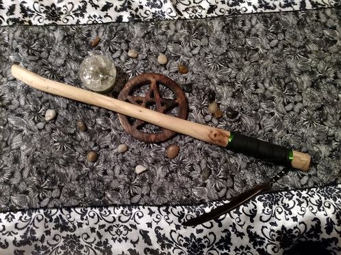 Hand Crafted Willow Wand
