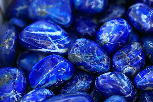 5 Lapis Lazuli tumbled stones
