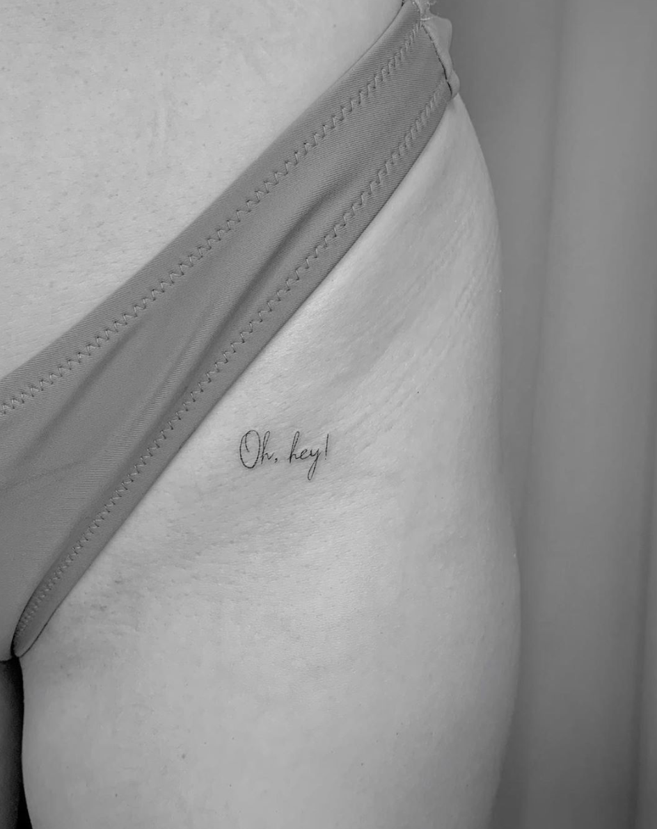 Tatuaje Oh Hey!