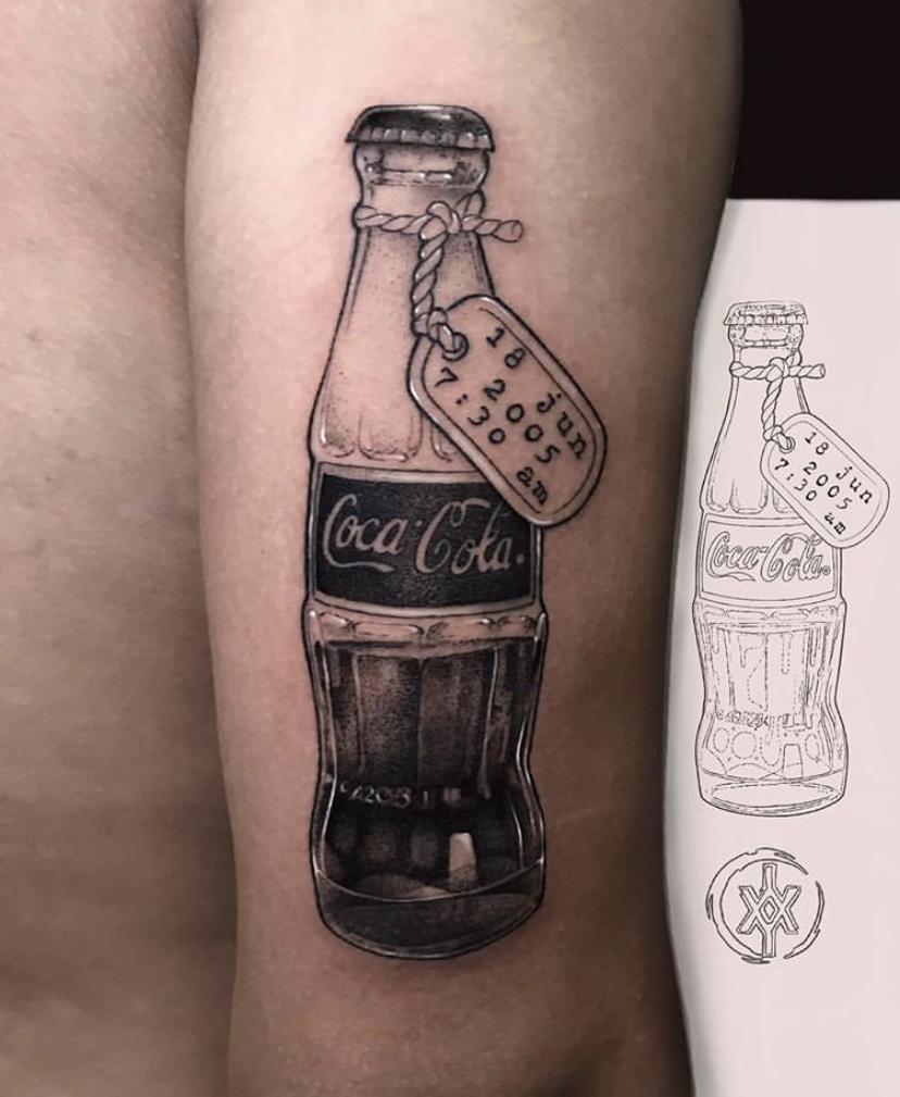 Tatuaje Coca-Cola