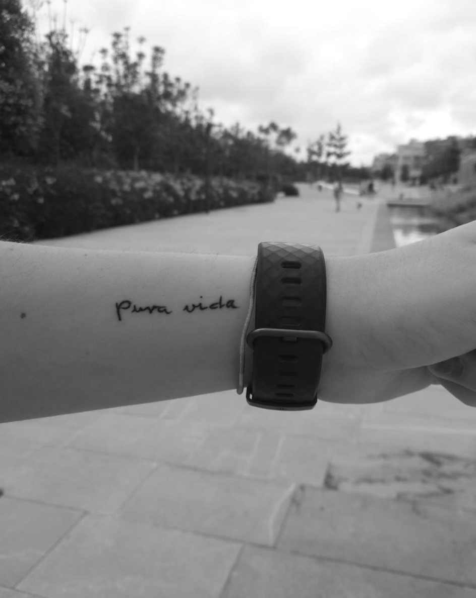 Tatuaje Pura Vida