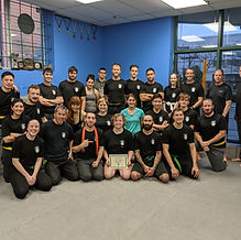 UTKM _ Krav Maga _ Petra Green Belt test
