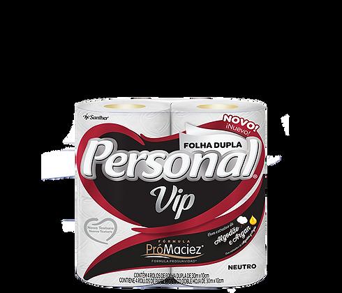 Papel Higiênico Personal Vip Folha Dupla 30 m Pacote c/ 4 rolos