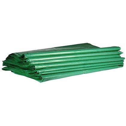 Saco de Lixo 40 litros Verde c/ 100 unidades