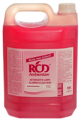 Detergente Limpa Alumínio e Aço Inox 5 litros