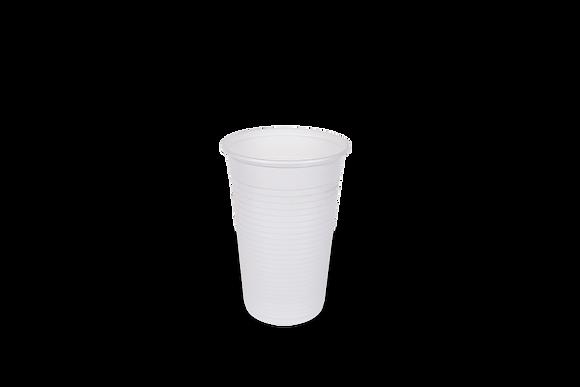Copo Descartável Branco 300ml c/ 100