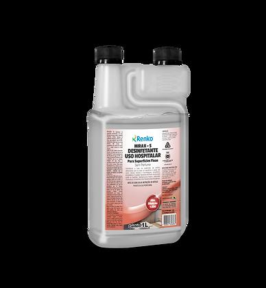 MIRAX S Desinferante Alta Diluição 1 litro - EFICAZ CONTRA CORONAVÍRUS