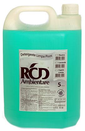 Detergente Limpa Pisos Neutro 5 litros
