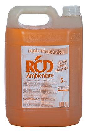 Limpador Perfumado Erva Doce 5 litros