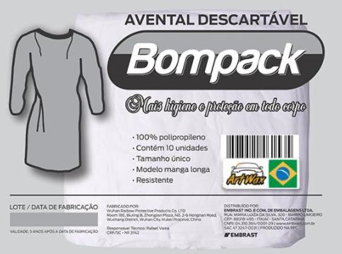 Avental Descartável TNT c/ 10 unidades