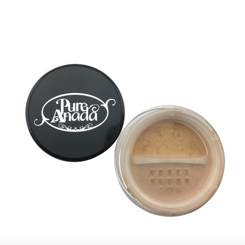Pure Anada Loose Mineral Foundation - Cappuccino (Deep/Olive)