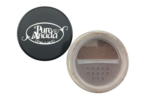 Pure Anada Loose Mineral Foundation - Ebony (Global/Black)