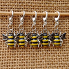 Bee stitch markers