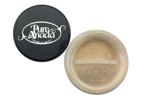 Pure Anada Loose Mineral Foundation - Flaxen Field (Light/Olive)