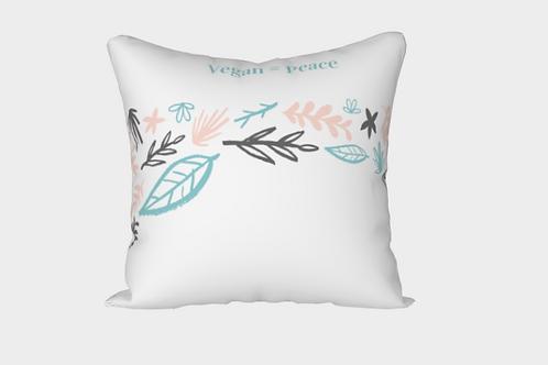 Vegan = Peace Pillow Case