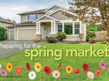 Spring Action - The Housing Market is blooming!