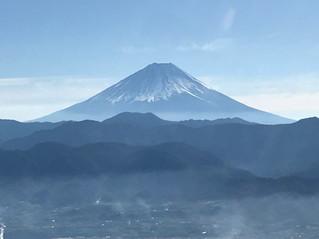 富士山周遊飛行に成功!!