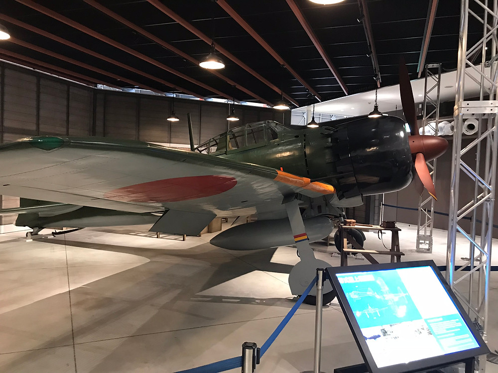 ゼロ戦52型です。