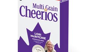 Cheerios recognizes Airdrie Food Bank executive director as 'frontline hero'