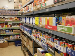 Airdrie Food Bank struggles to meet rising demand due to pandemic