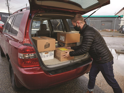 Airdrie Food Bank teams up with Leftovers Foundation