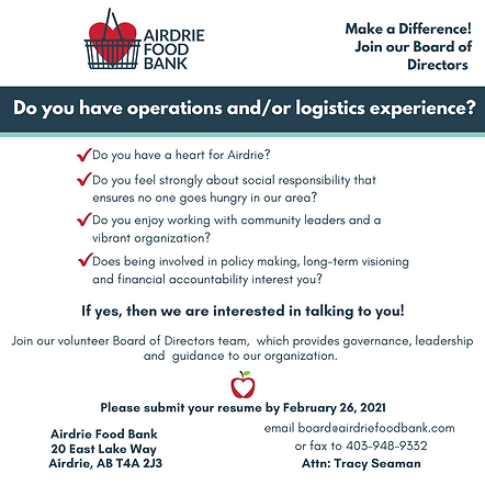 Copy of Do you have a heart for Airdrie_