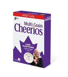 Food bank director recognized by Cheerios box campaign