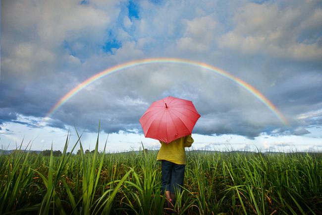 Capturing the Rainbow!