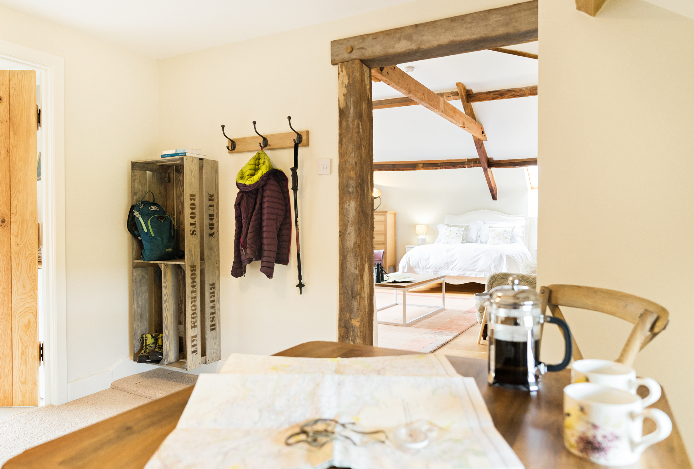 Loft Suite Kit Area Looking towards Bed Room