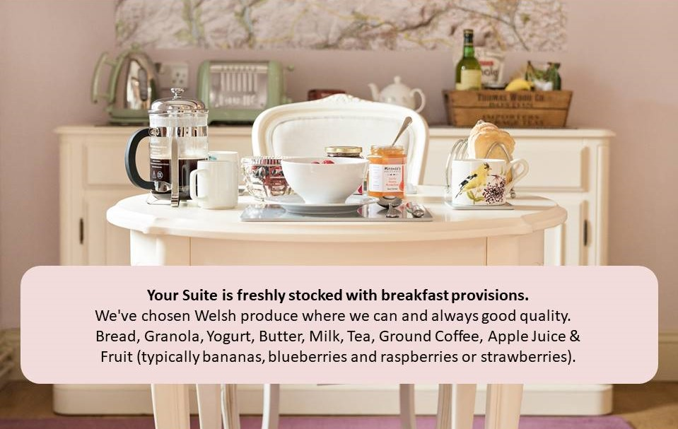 Courtyard Suite Breakfast Description