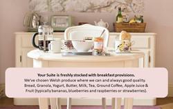 Courtyard Suite Breakfast Description
