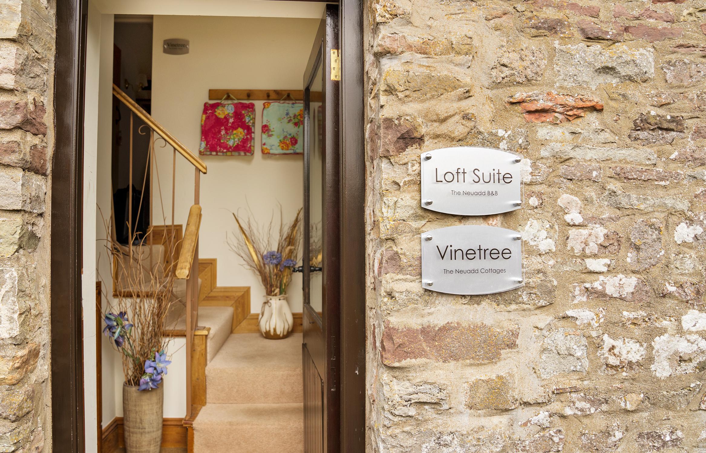 Loft Suite Entrance