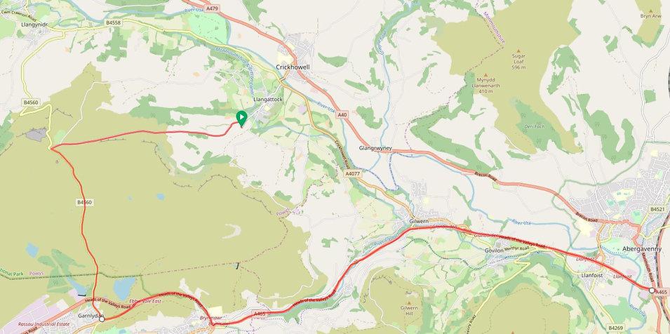 Route via Garnlydan.JPG