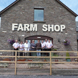 Farm Shop and Cafe on UK eBike Cycling H
