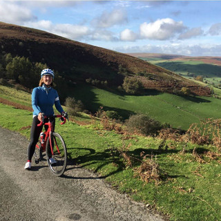 UK Holiday Cycling through the Begwin.JP