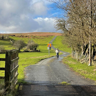 Gentle eBike Cycling Route near Crickhow
